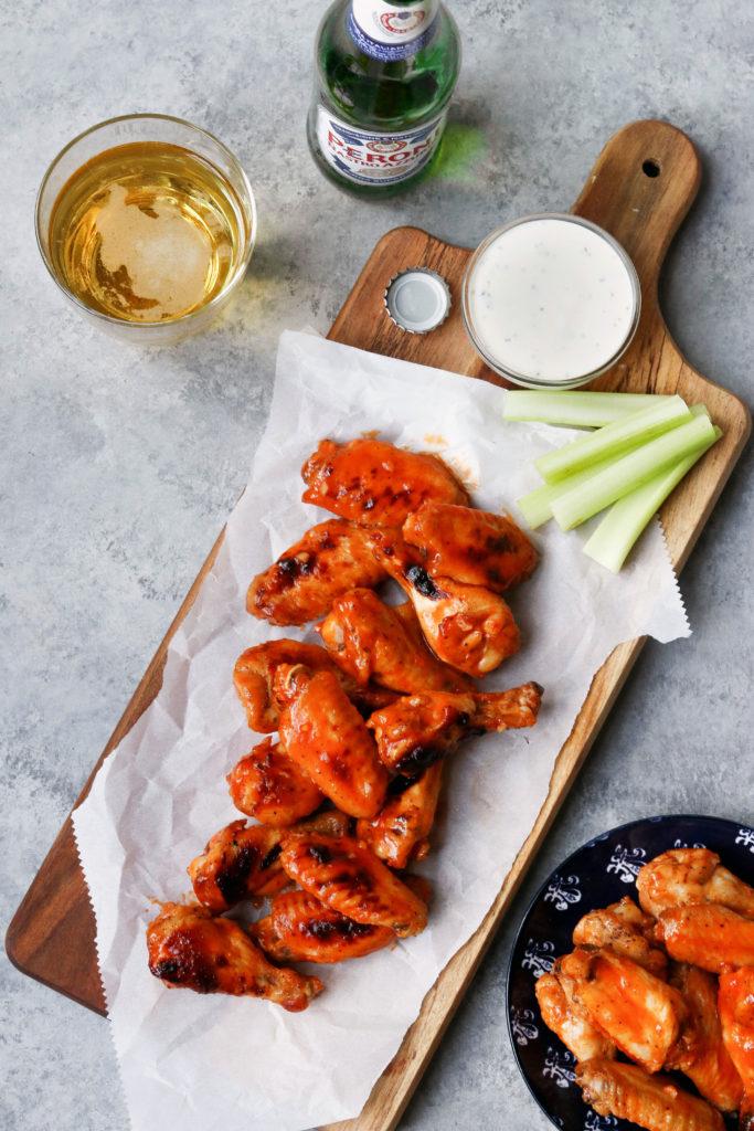 Healthy Hot Wing Recipe