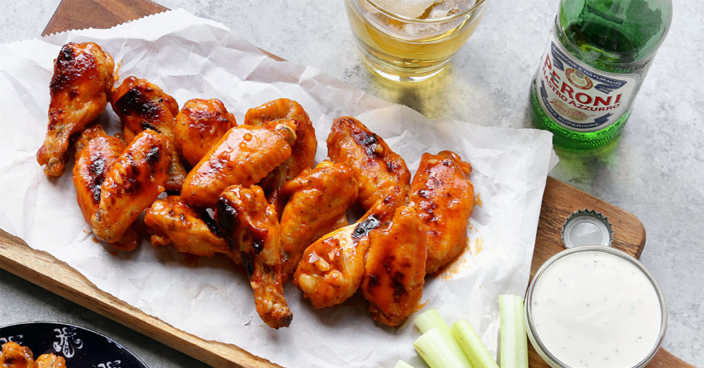 Healthy Hot Wing Recipe