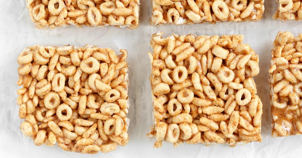 5-Ingredient No Bake Cereal Bars for Kids | Simply Sissom