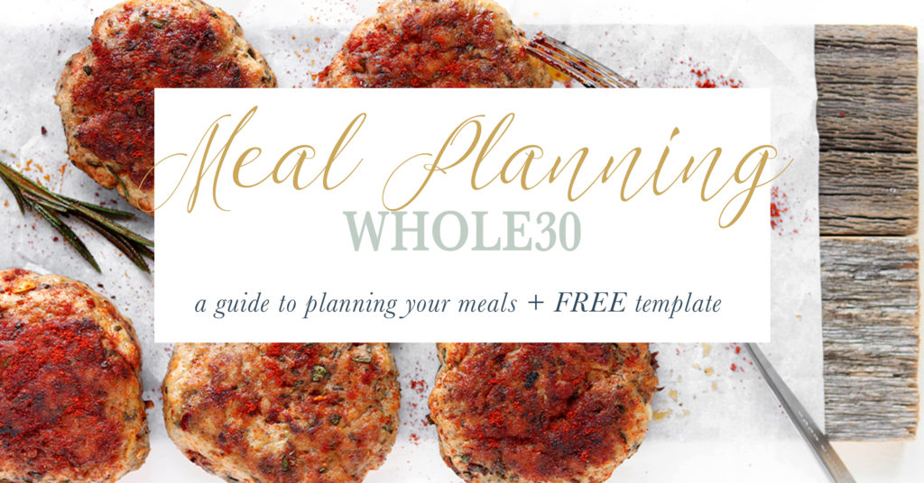 Whole30 Meal Planning Guide
